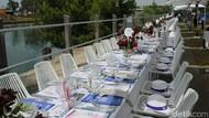 Meja Makan Siang Terpanjang di Dunia, Cuma di Australia