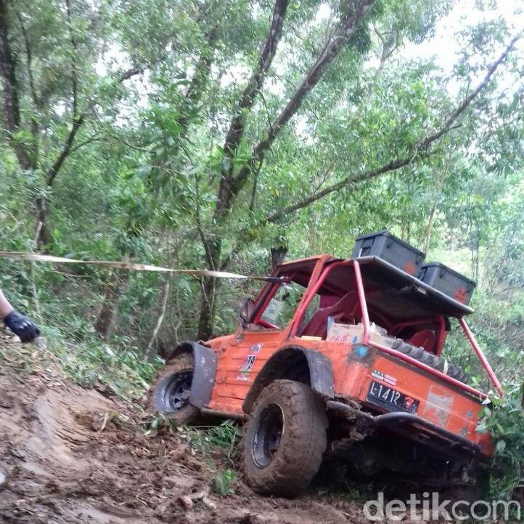 Mengintip Ajang Uji Nyali Off Roader di Pacitan