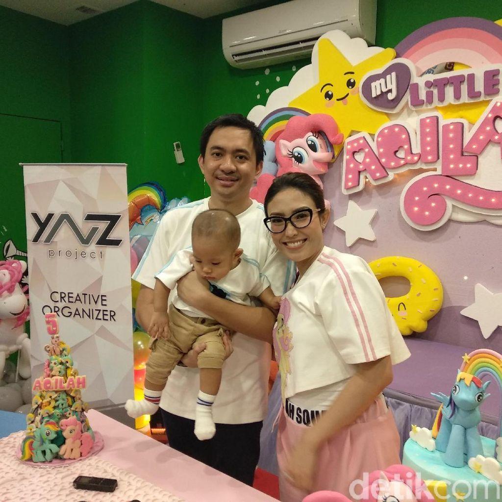 Ayu Dewi Habiskan Rp 150 Juta demi Ulang Tahun Anak?