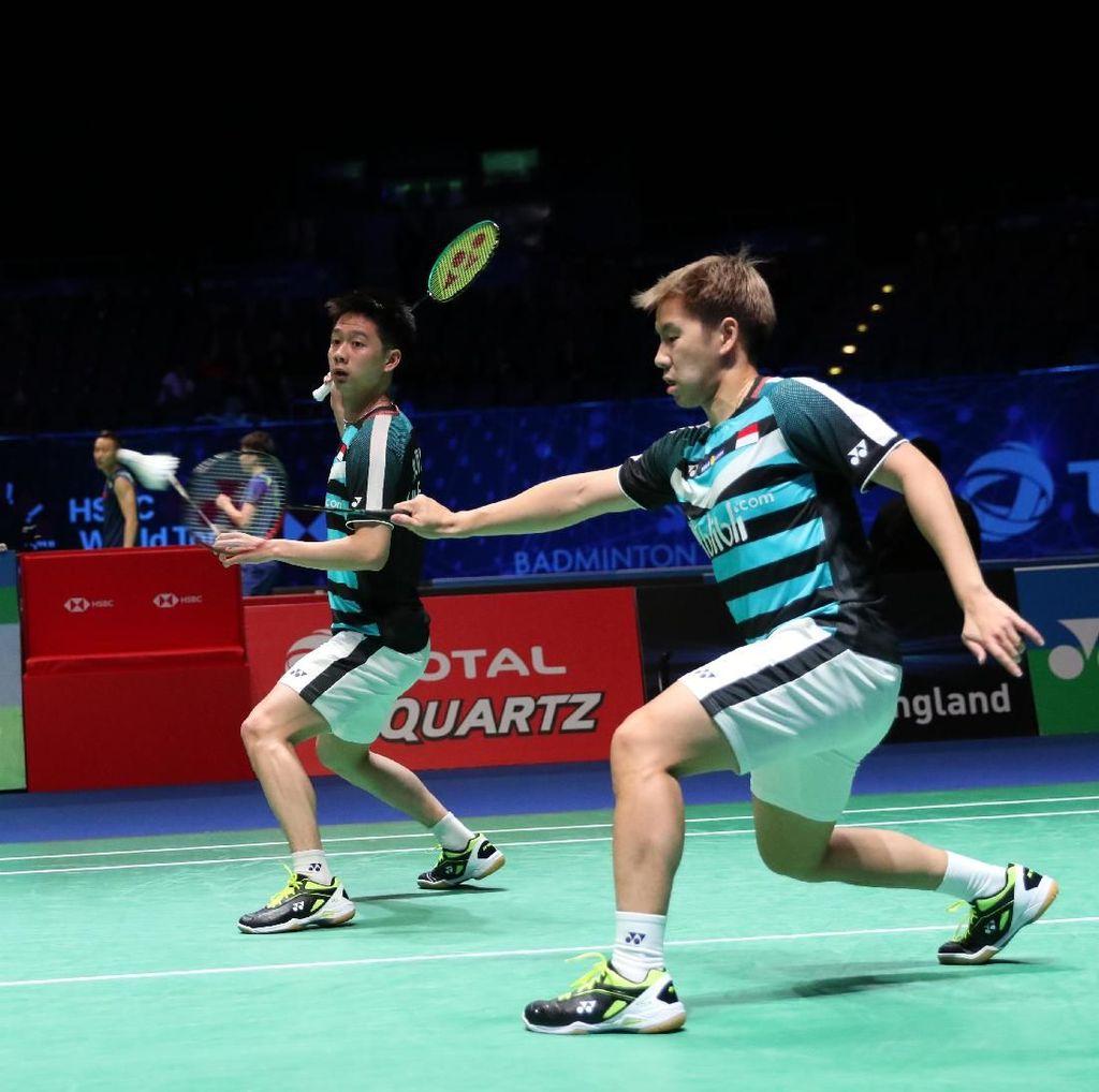 Aksi Kevin/Marcus di Semifinal All England Bisa Ditonton di detikSport