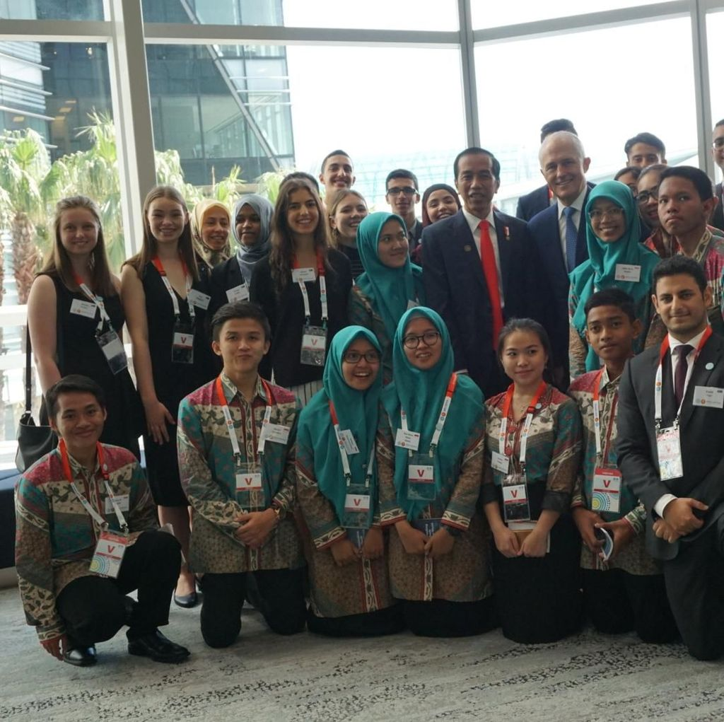 Video PM Australia Bertemu Kids Zaman Now Indonesia