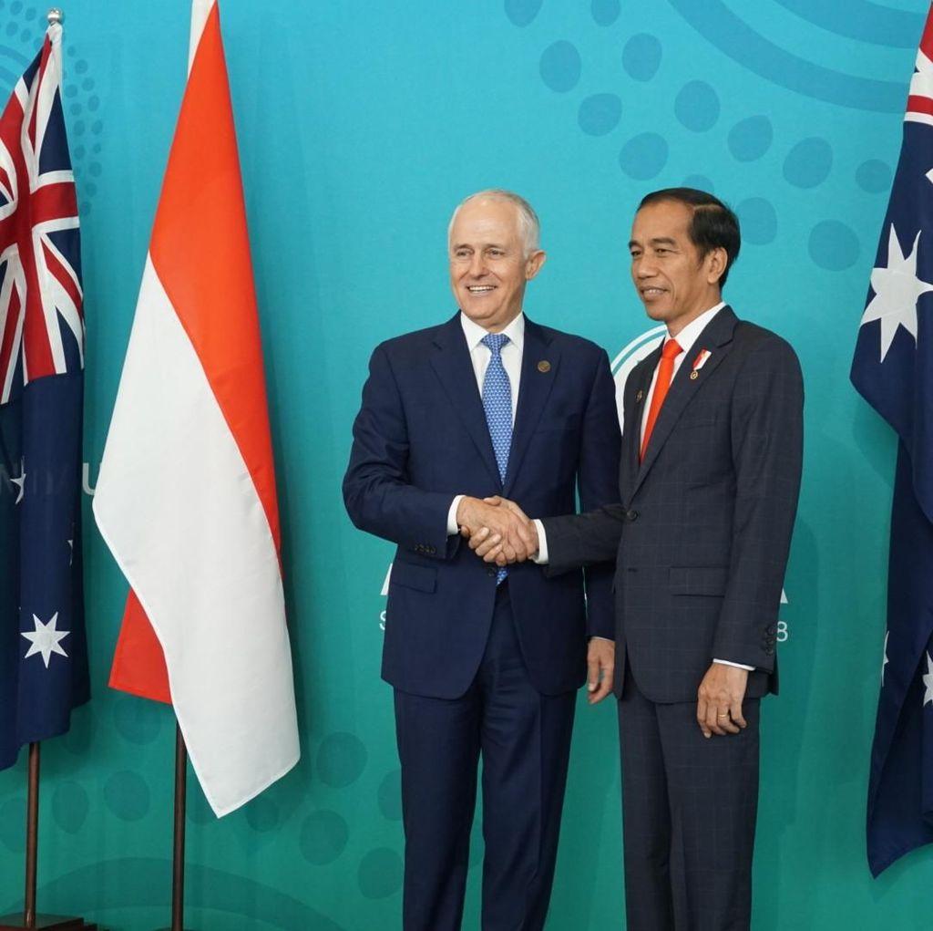 Jokowi-Turnbull Bahas Kerja Sama Maritim hingga Inovasi Digital