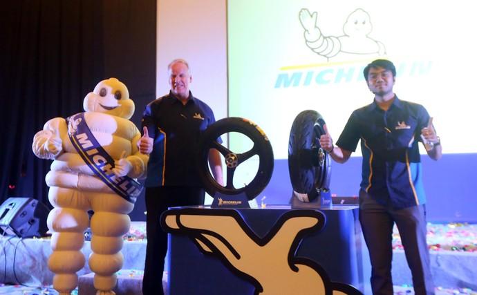 Michelin Kenalkan Ban untuk Motor Sport & Touring