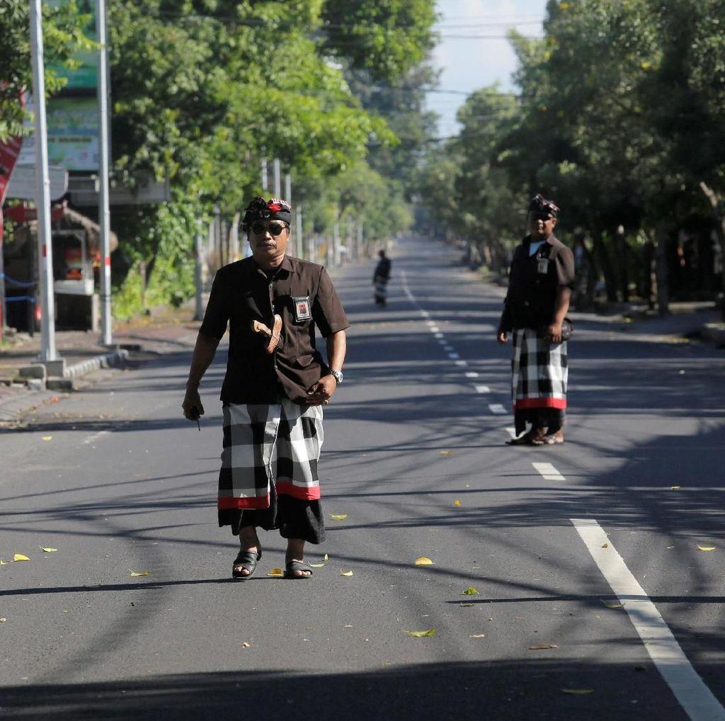 Suasana Nyepi di Bali, Internet Turut Mati