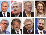 Foto: Putin dan 7 Penantangnya di Pilpres Rusia