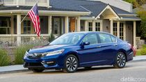 Honda Accord Hybrid Jadi Lebih Murah