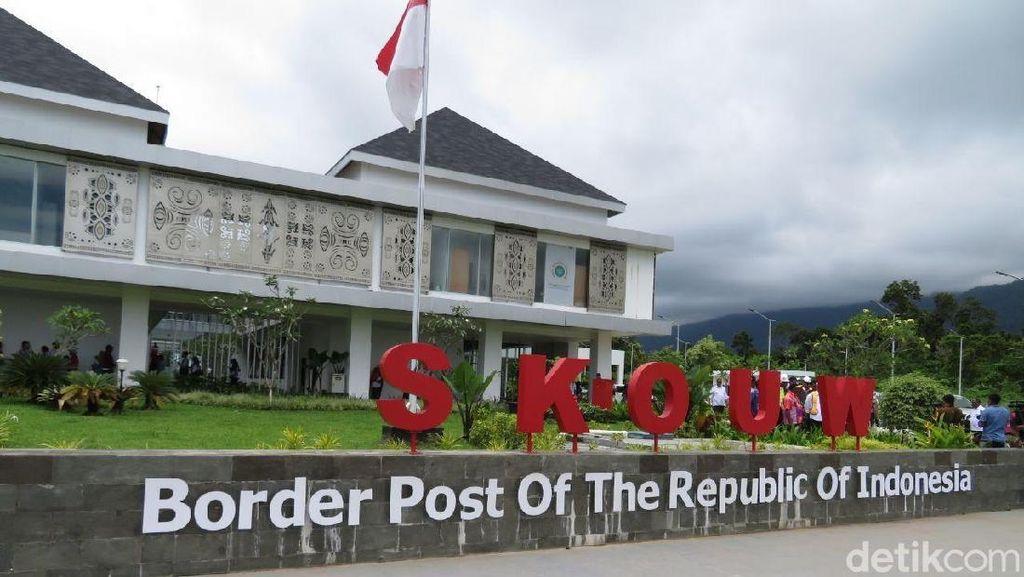 Bangga! RI Punya Pos Perbatasan Megah di Tanah Papua