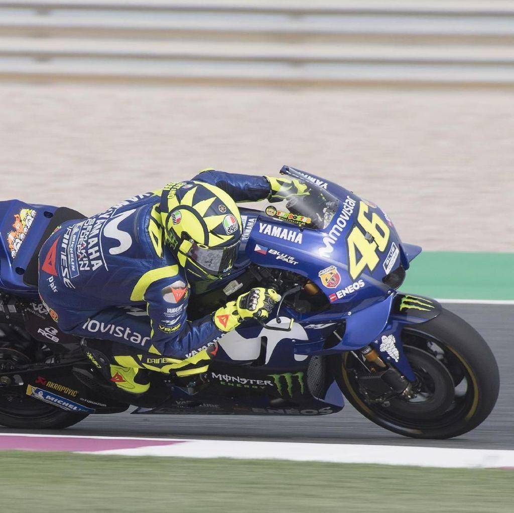 Hari Pertama yang Cukup Positif untuk Rossi