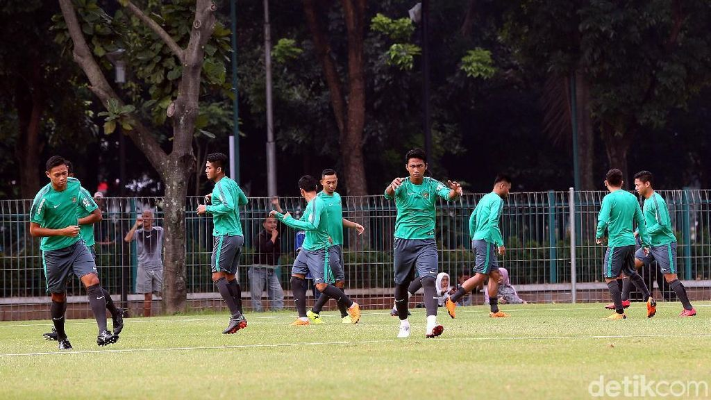 Empat Pemain Ini Jalani Sesi Khusus Usai Latihan Timnas U-23