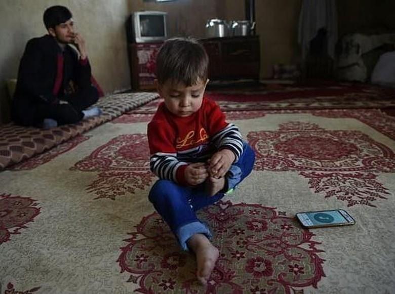 Bayi 'Donald Trump' Picu Kehebohan di Afghanistan