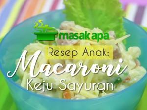 Sedapnya Macaroni Keju Pengganti Nasi untuk Anak