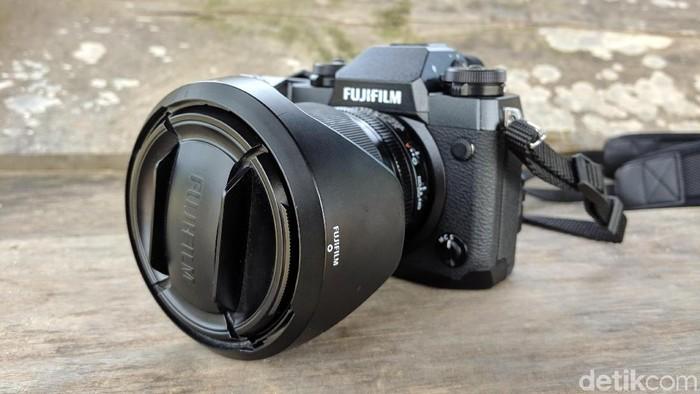 Fujifilm X-H1 Foto: Adi Fida Rahman/detikINET