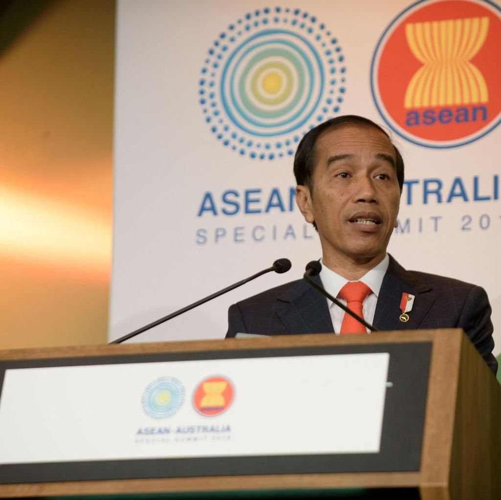 Jokowi Cerita soal Eks Teroris Tobat di KTT ASEAN-Australia