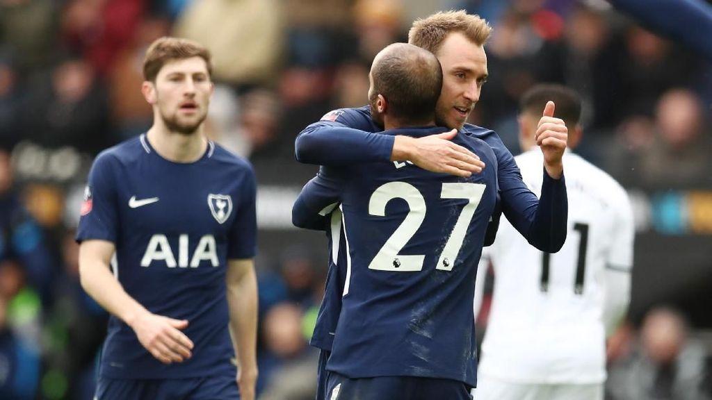 Spurs Lolos dan Main Bagus, Pochettino Puas