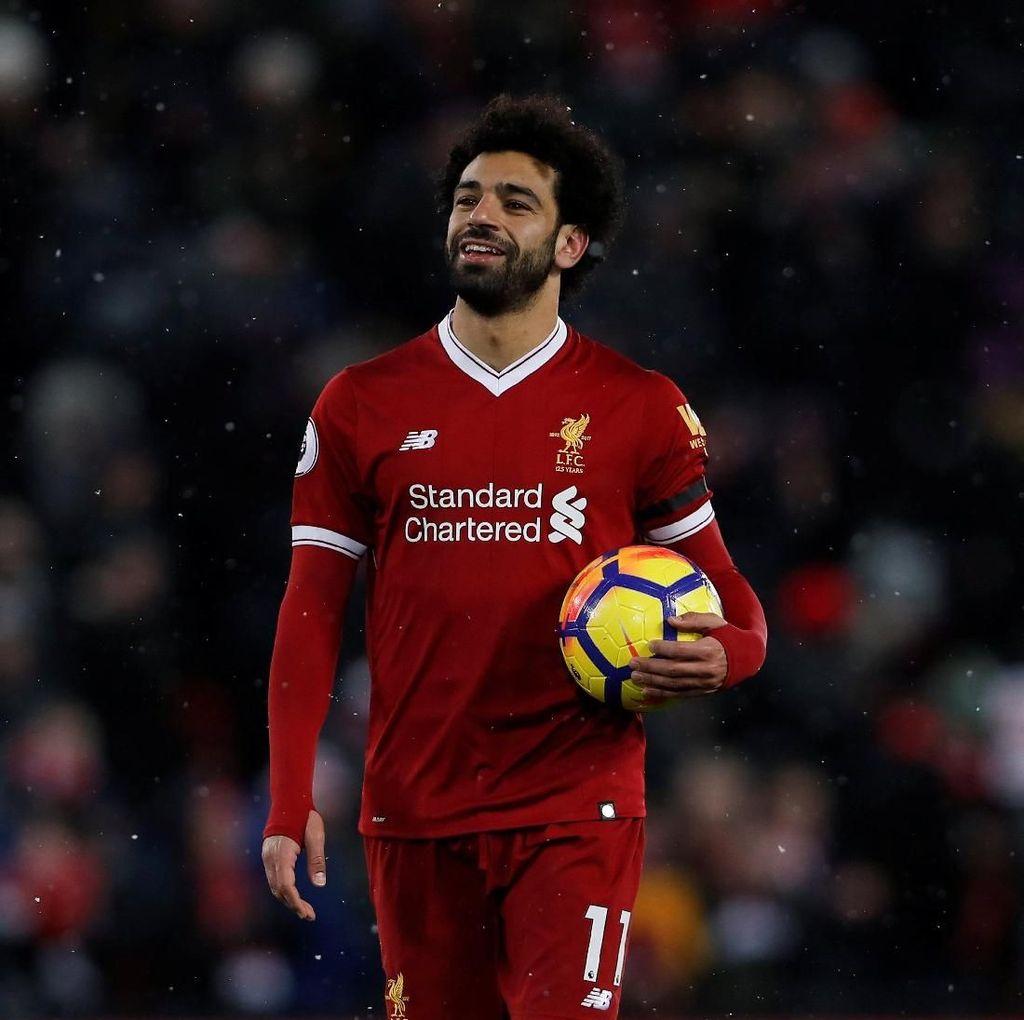 Mohamed Salah yang Tetap Rendah Hati