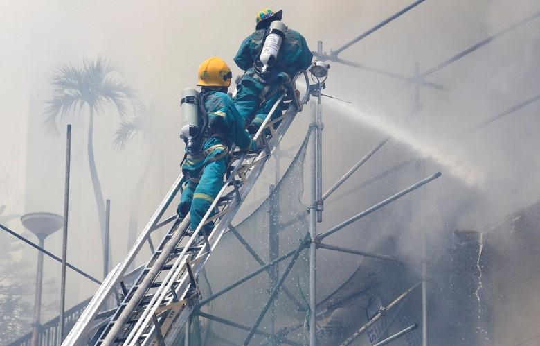 Hotel di Filipina Terbakar, 3 Tewas dan 2 Hilang