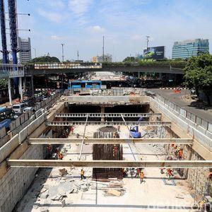 Siap Beroperasi Awal April, Ini Penampakan Terkini Underpass Mampang