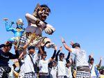 Suasana Keseruan Festival Ogoh-ogoh di Ancol