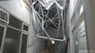 Atap Runtuh, RSAL Surabaya: Kontraktor Harus Tanggung Jawab!