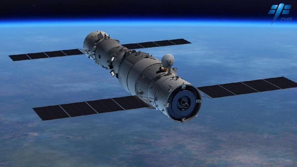 Memprediksi Jatuhnya Stasiun Antariksa China ke Bumi