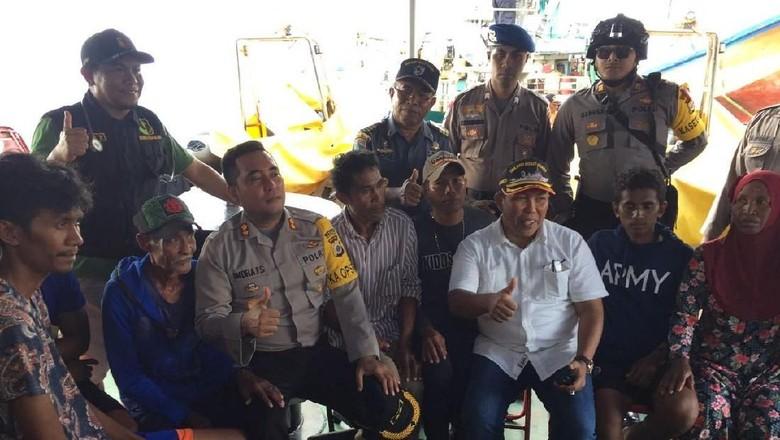 3 Hari Terdampar di Pulau, 7 Warga Tual Hanya Makan Pisang