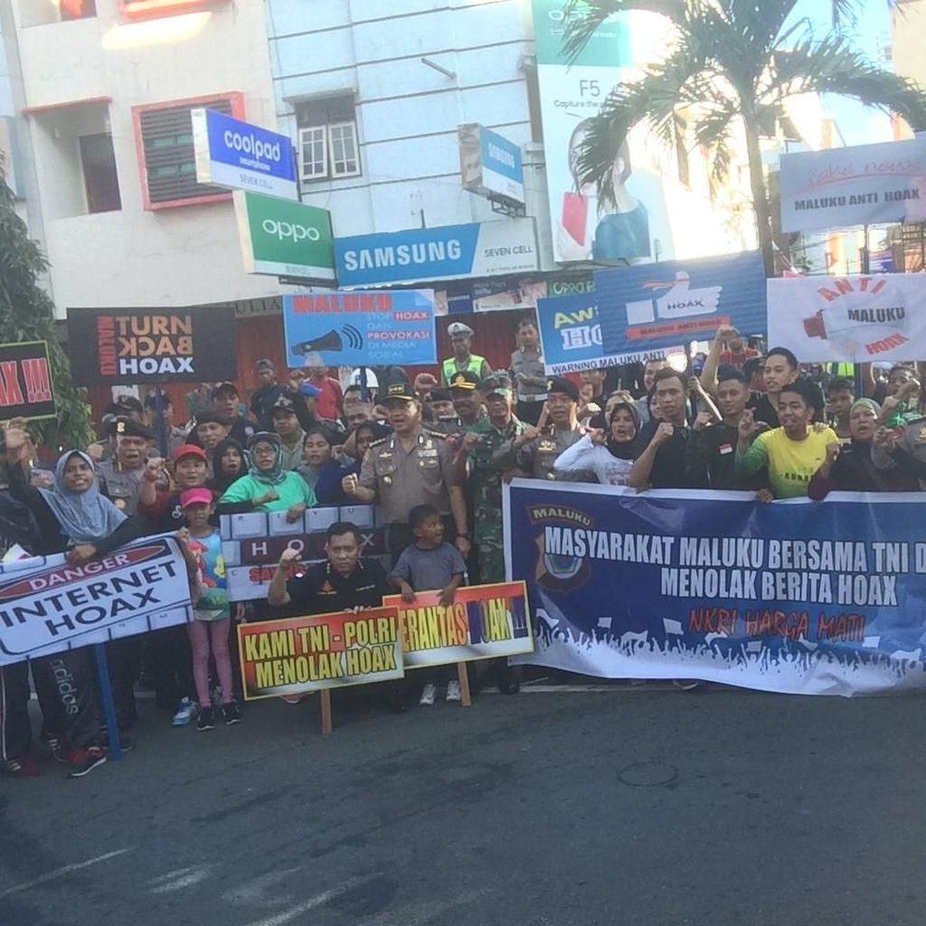 Pimpin Deklarasi, Wakapolda Maluku: Hoax Itu Jahat Sekali