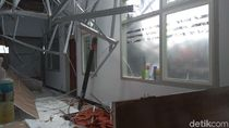 4 Orang Terluka Akibat Ruangan di RSAL Surabaya Ambruk