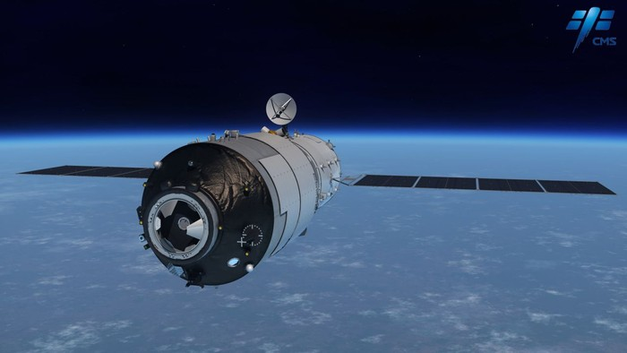 Tiangong-1. Foto: China Manned Space Agency