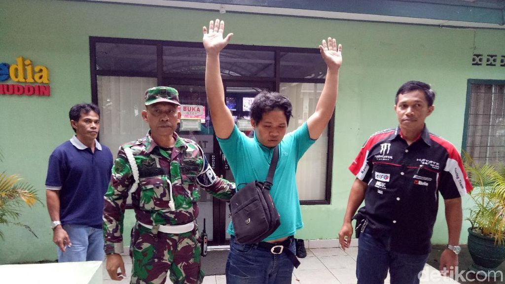 Driver Ojol ini Ditangkap Setelah Ngaku TNI dan Ajak Bobol ATM