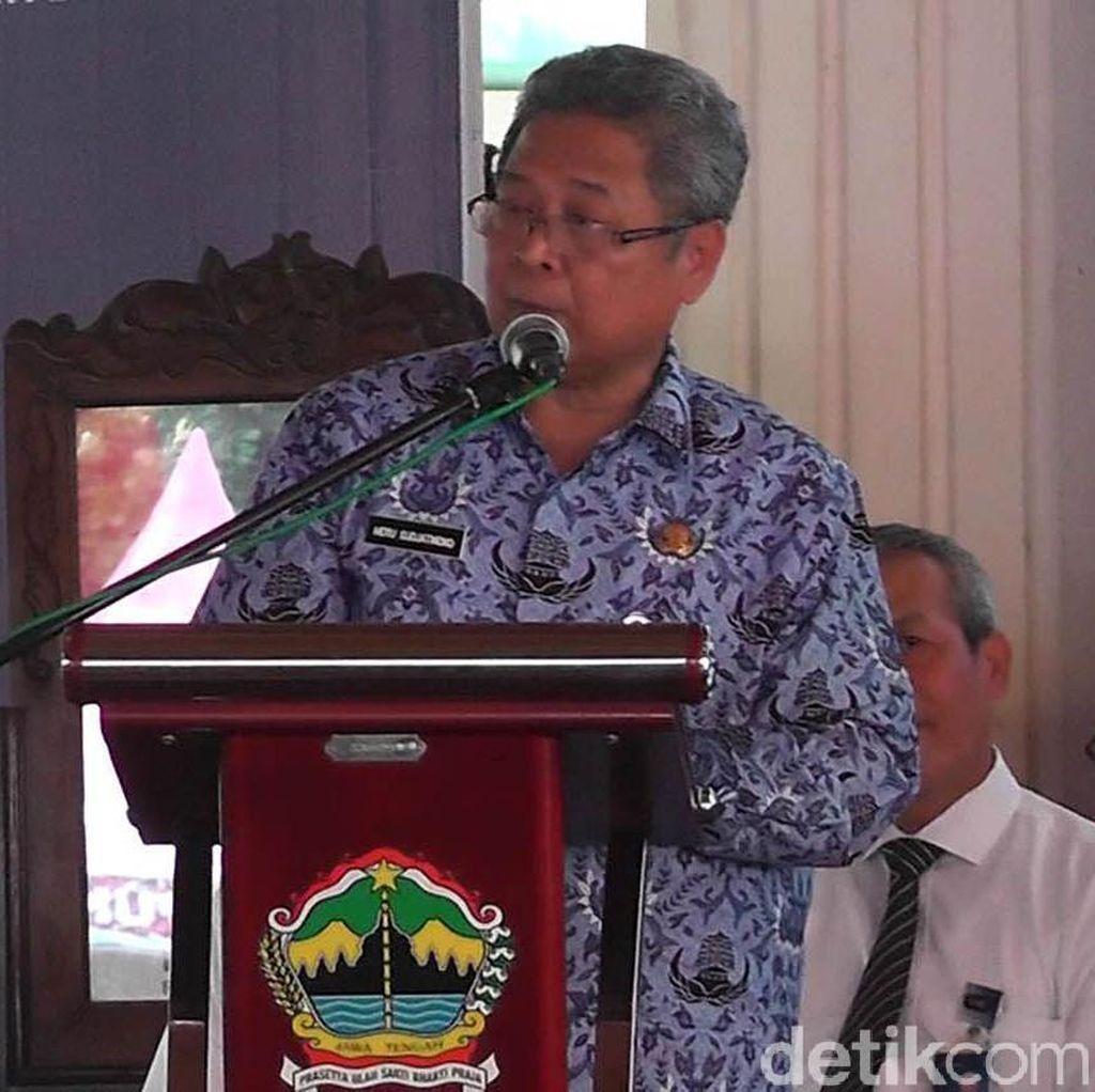 Hadiri Musrenbangwil, Plt Gubernur Jateng Pamitan