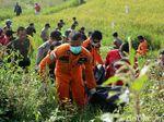 Empat Wisatawan yang Hilang di Curug Teko Garut Ditemukan Tewas