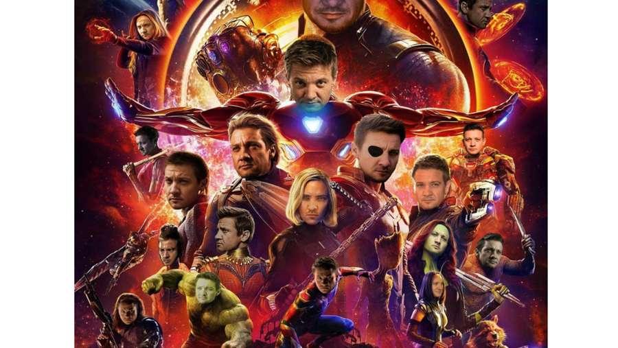 Absen di Trailer hingga Poster Infinity War, Ramai Muncul Meme Hawkeye