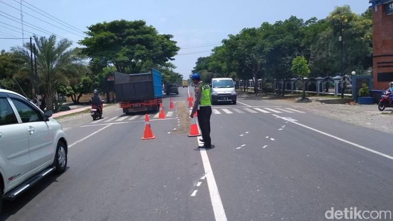 Siswi SMA Ditabrak dan Terseret Truk Hingga Tewas di Rembang