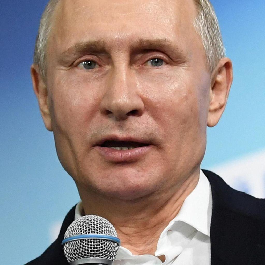 Menang Telak 75 Persen Suara dalam Pilpres, Ini Kata Putin