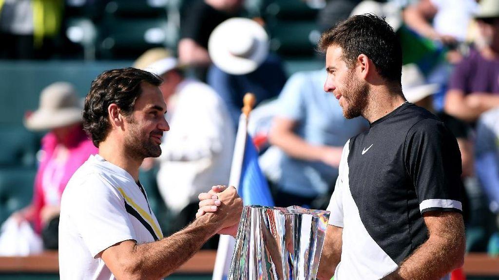 Del Potro Hentikan Keperkasaan Federer untuk Rebut Gelar Juara