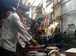 Sapa Pedagang, Gus Ipul Ingin Pasar Tradisional Nyaman Dikunjungi