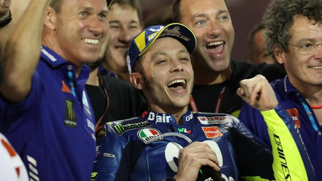 Apakah Rossi Akan Tetap Kompetitif Sampai 2020? Ini Jawaban Yamaha