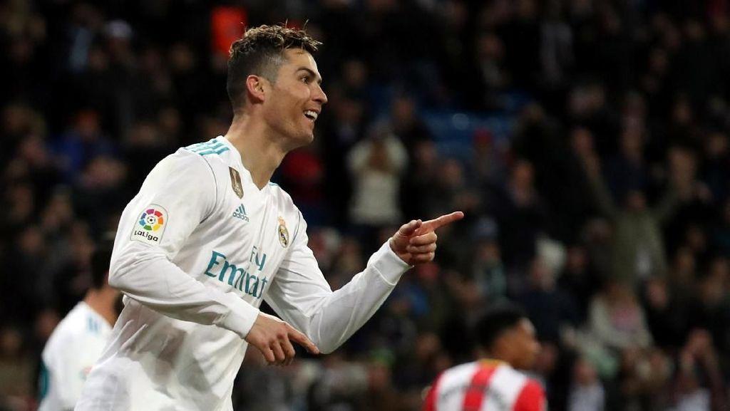 Hujan Gol di Santiago Bernabeu, Madrid Kalahkan Girona 6-3