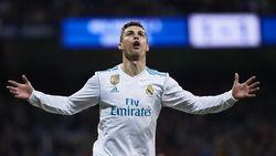 Hat-trick ke-50 Ronaldo dari Empat Golnya di Bernabeu