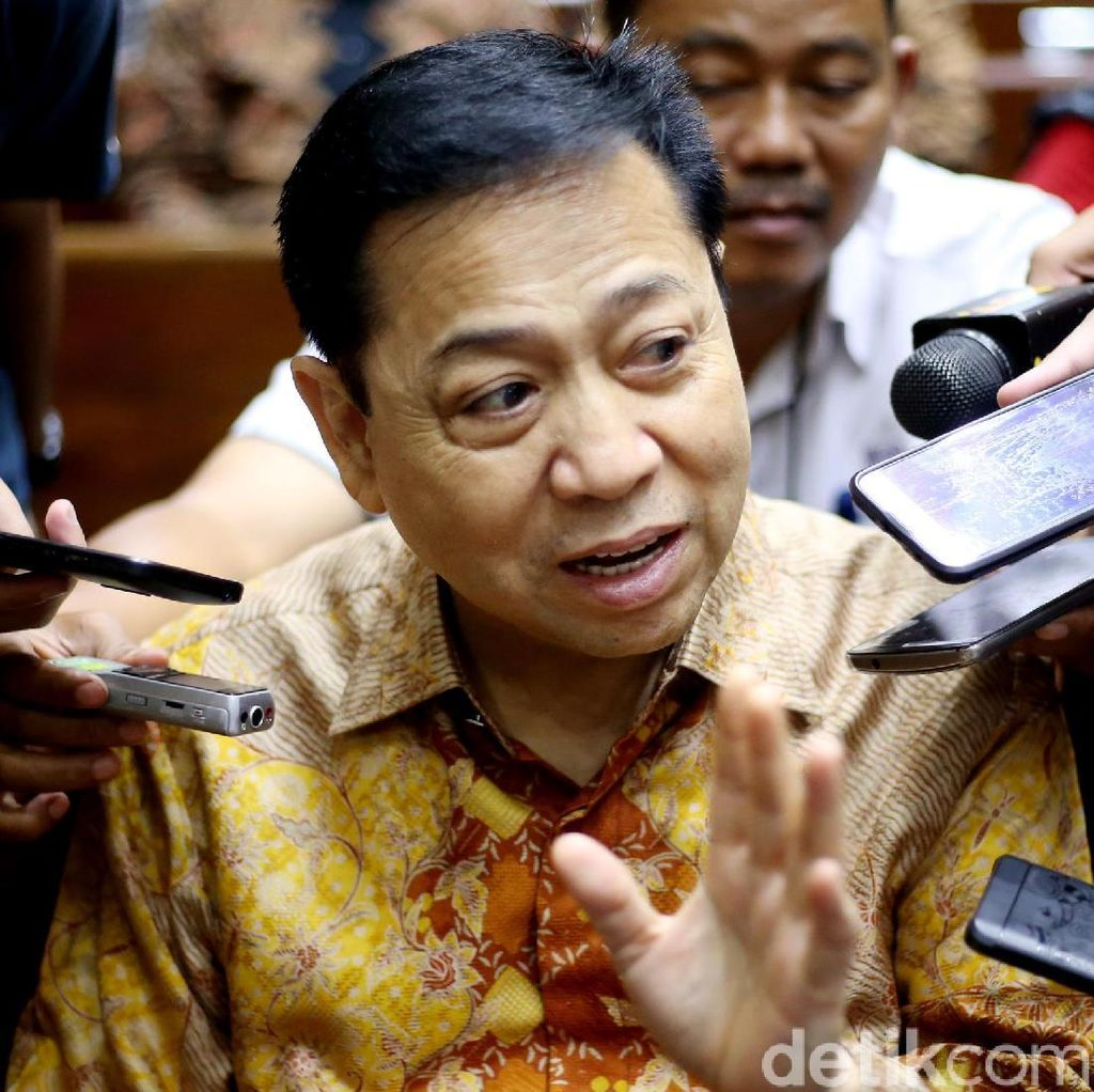 Novanto Jalani Pemeriksaan Terdakwa Sidang Kasus Proyek e-KTP