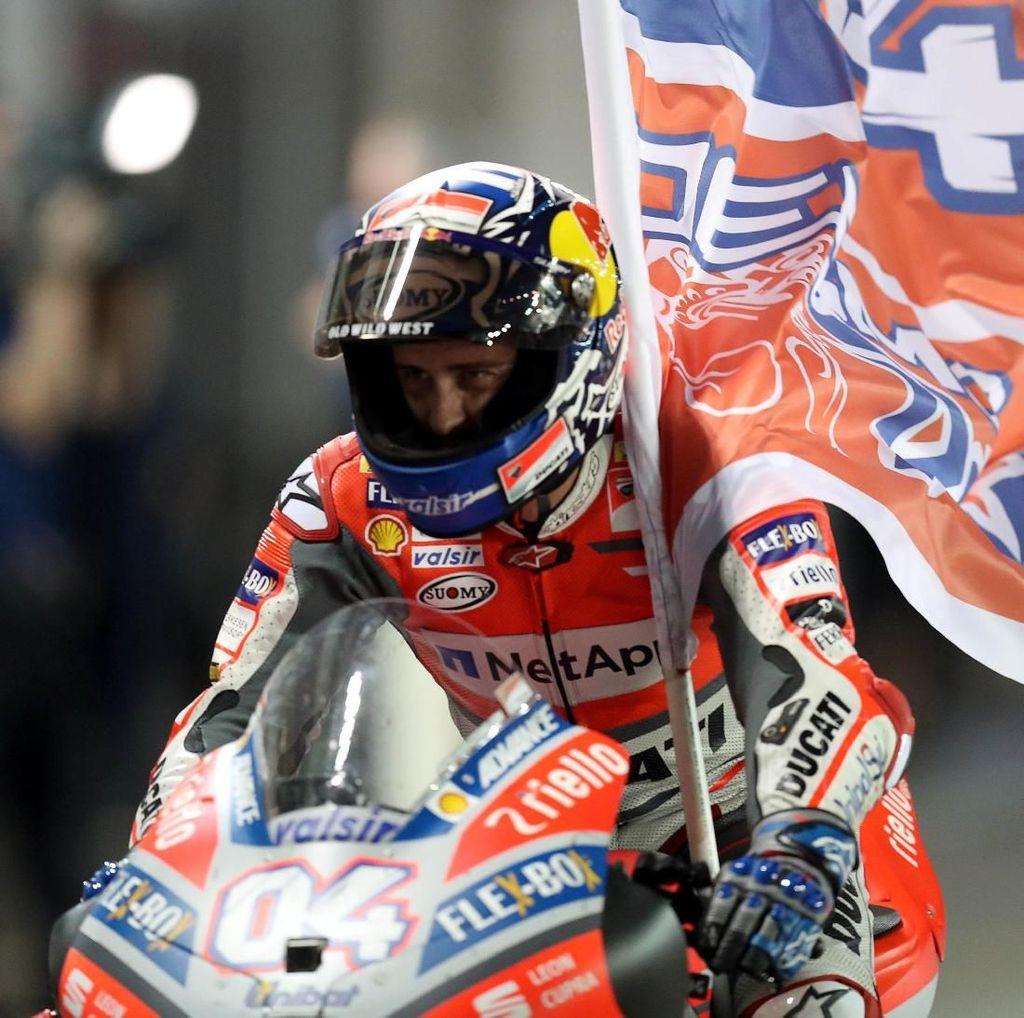 Dovizioso Juara, Marquez Kedua