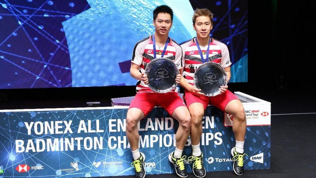 Beri Selamat untuk Kevin/Marcus, Jokowi: Indonesia Bangga!