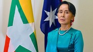 Tiba-tiba Sakit, Aung San Suu Kyi Batal Pidato di Australia