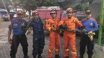Ular Sanca 4 Meter di RM Padang Meliuk-liuk dan Pecahkan Piring