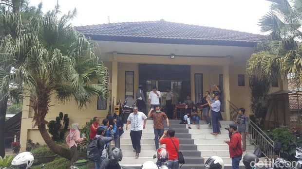 Anggota DPRD Kota Malang saat diperiksa KPK/