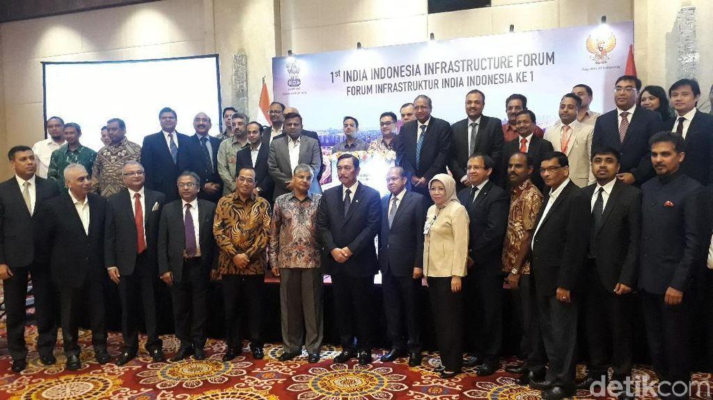 India Minat Investasi di RI Mulai Infrastruktur hingga Pembangkit