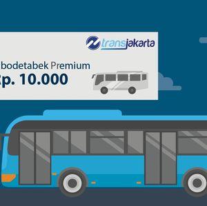 Hore! Tarif Bus Premium Bekasi-Jakarta Turun