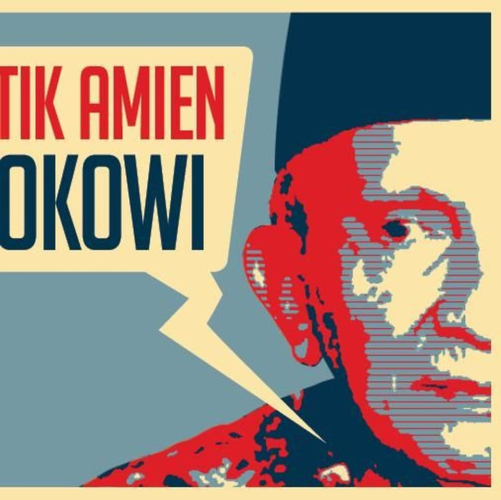 Bertubi-tubi Serangan Amien Rais Kepada Jokowi