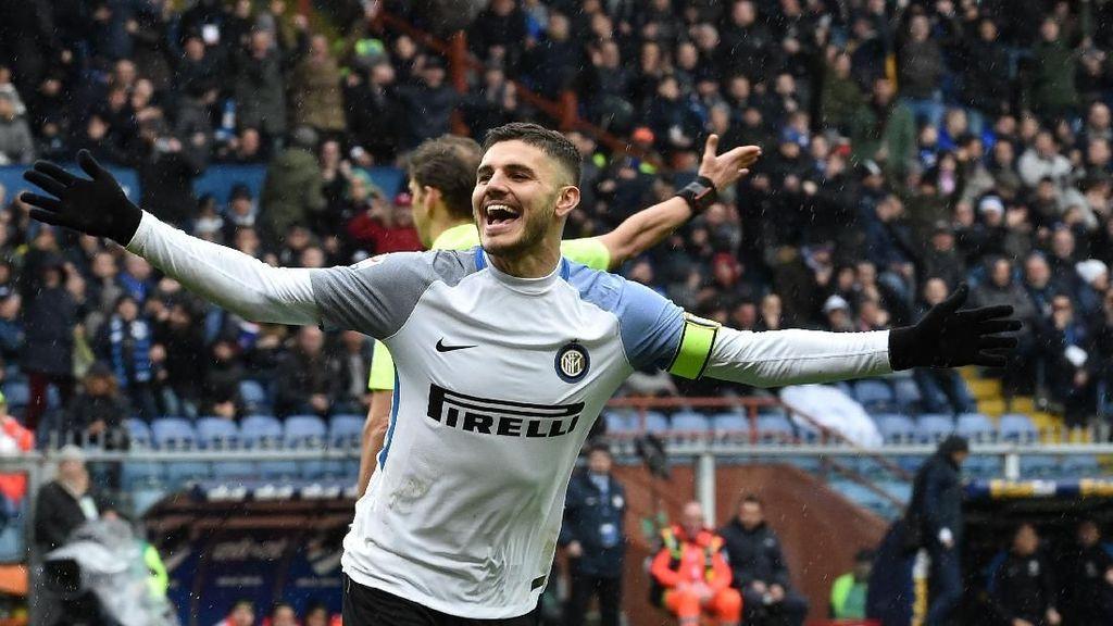 Icardi Sudah Lebih dari 100 Gol di Seri A