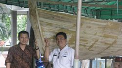 Alternatif Kapal Kayu, ITS Kembangkan Kapal dari Bambu